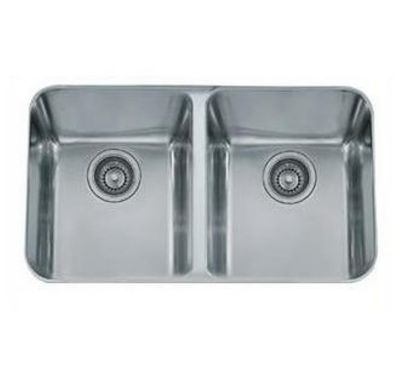 Largo Stainless Undermount Double-Bowl Kitchen Sink