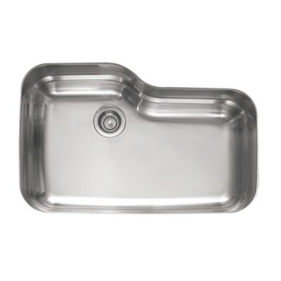 Orca™ Stainless Undermount Single-Bowl Kitchen Sink
