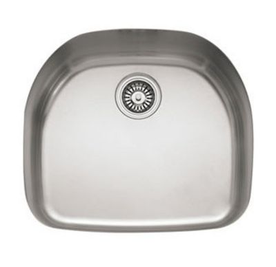 Prestige™ Stainless Undermount Single-Bowl Kitchen Sink with Integral Ledge
