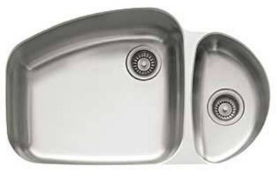 Vision™ Stainless Undermount Double-Bowl Kitchen Sink