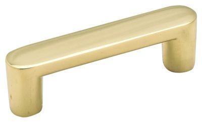 Allison™ Value Hardware Pull - Polished Brass
