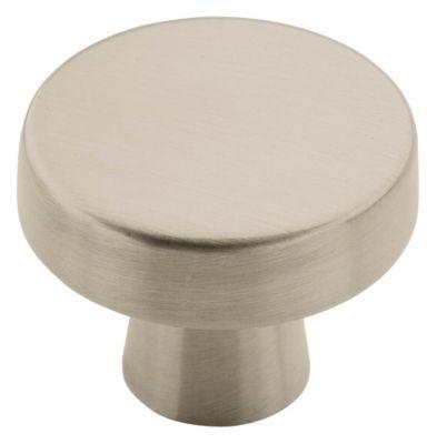 Blackrock 1-1/3'' Standard Round Knob - Satin Nickel