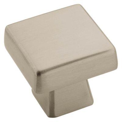 Blackrock 1-1/6'' Standard Square Knob - Satin Nickel