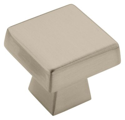 Blackrock 1-1/2'' Square Knob - Satin Nickel