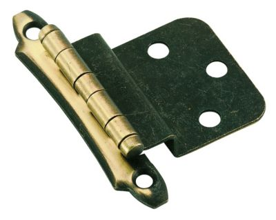 Hinge: Non Self-Closing, Face Mount, Inset 3/8