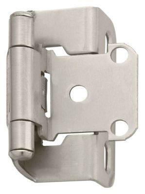 Self-Closing Partial Wrap Hinges with 1/2