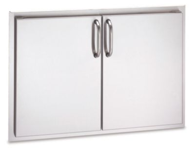 Select Stainless Steel Double Access Door