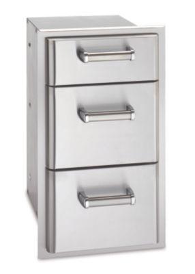 Premium Stainless Steel Triple Drawer