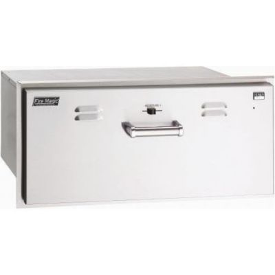 Premium Stainless Steel Electric Warming Drawer