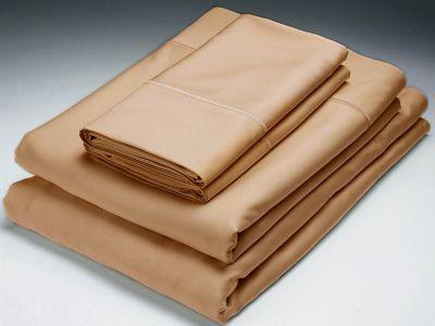 Bamboo Solid Queen Flat Sheet