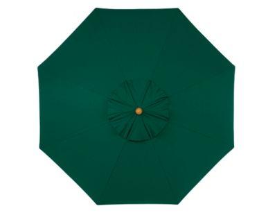 9' Octagonal Polyester Market Umbrella