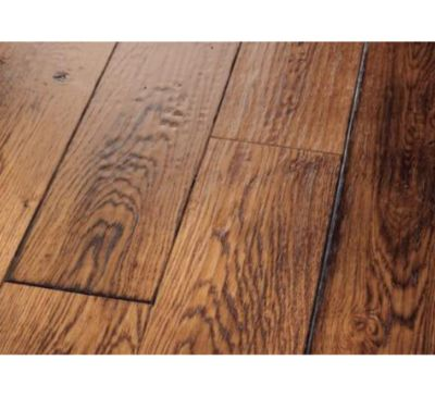 Smoked Specialties™ Sandgate-White Oak Scraped/Wire Brushed 3/4