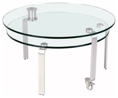 8161 Series Motion Cocktail Table - Chrome