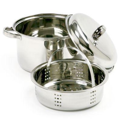 Stainless Steel Steamer/Cooker - 3 Piece Set