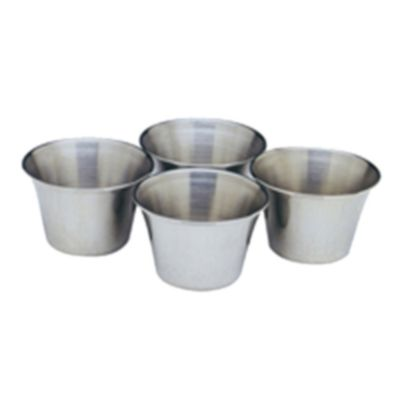 Stainless Steel Sauce/Butter Cups - Set of 4