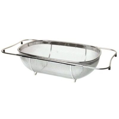 Stainless Steel Expanding Colander with Base
