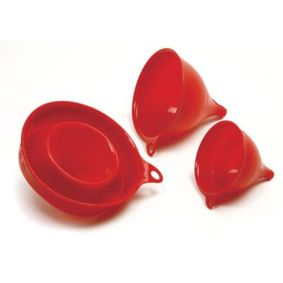 Silicone Funnels - Set of 3