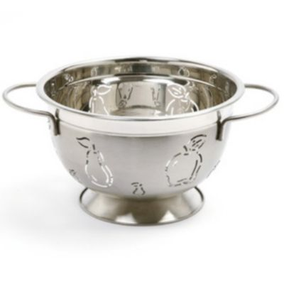 5 Qt. Stainless Steel Colander Apple/Pear