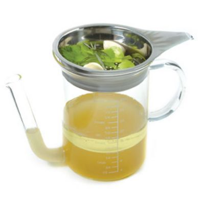 Gravy Fat Separator with Strainer