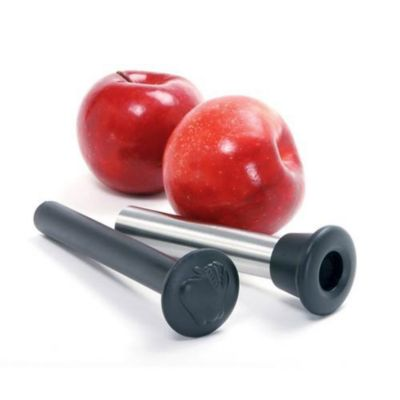 Stainless Steel Apple Corer with Plunger