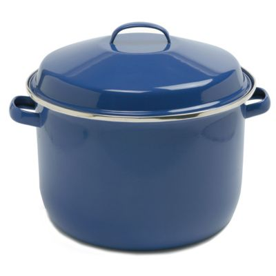 18 Qt. Porcelain Enamel Canning Pot