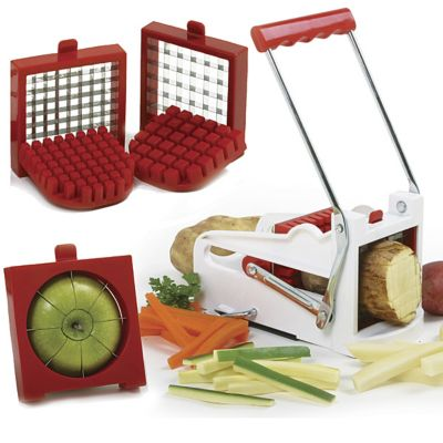French Fry Cutter/Fruit Wedger Set