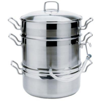 KRONA® Stainless Steel Steamer/Juicer
