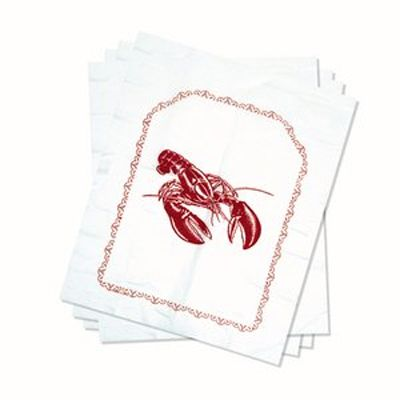 Plastic Lobster Bibs - Set of 4