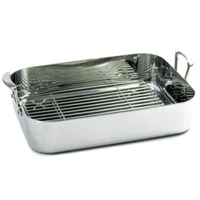 KRONA® Stainless Steel Roaster with Rack