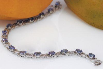 Women's Tanzanite & Diamond