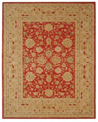Anatolia 500 Area Rug - Red/Gold