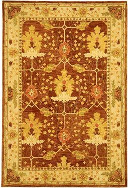 Anatolia 500 Area Rug - Brown/Ivory