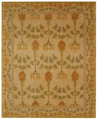 Anatolia 500 Area Rug - Pale Yellow/Soft Green
