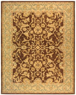 Anatolia 500 Area Rug - Brown/Ivory