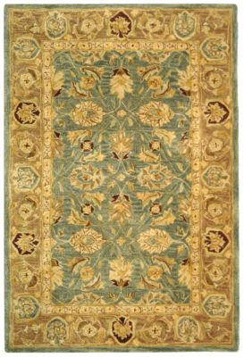 Anatolia 500 Area Rug - Blue/Brown