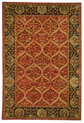 Anatolia 600 Area Rug - Red/Navy
