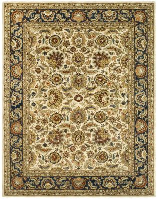Classic Area Rug - Ivory/Navy