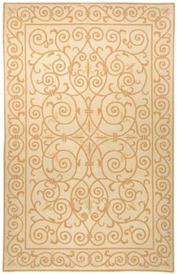 Chelsea 100 Area Rug - Ivory/Gold