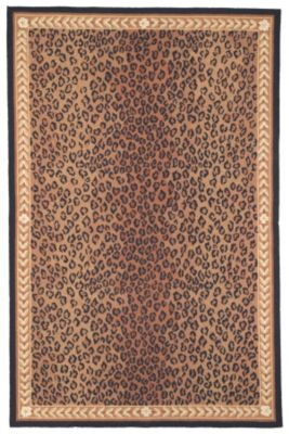 Chelsea 100 Area Rug - Black/Brown