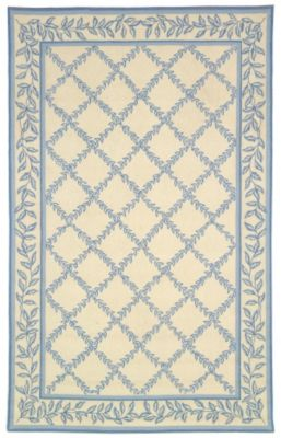 Chelsea 200 Area Rug - Ivory/Blue