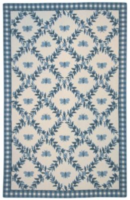 Chelsea 000 Area Rug - Ivory/Blue