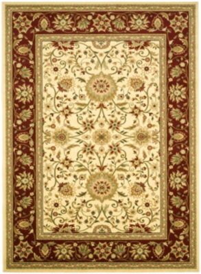 Lyndhurst Area Rug - Ivory/Red