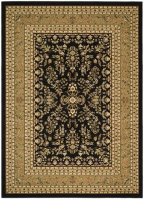 Lyndhurst Area Rug - Black/Tan