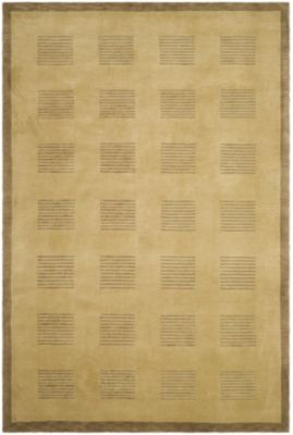 Tibetan 100 Brownstone Area Rug - Khaki/Java