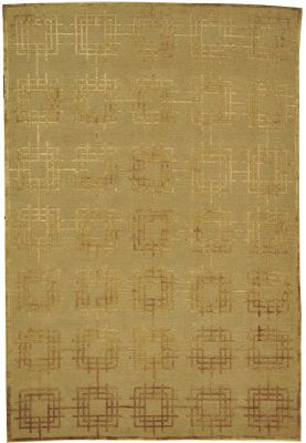 Thomas O'Brien Deco Garden Area Rug - Linen