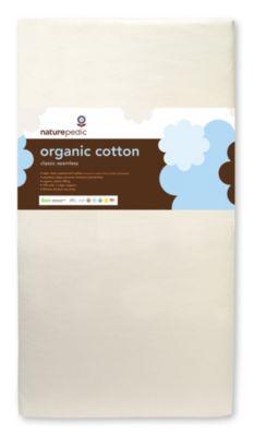 No-Compromise™ Organic Cotton Classic Seamless Crib Mattress