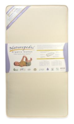 No Compromise™ Organic Cotton 2-in-1 Ultra/Quilted Combo Crib Mattress