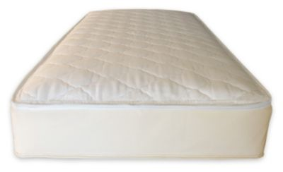 2-in-1 Organic Cotton Ultra/Quilted Twin Mattress