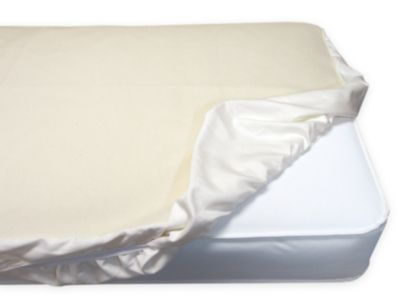 Organic Cotton Fitted Waterproof Crib Pad