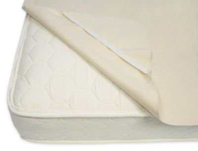 Organic Cotton Waterproof Twin Mattress Pad with Straps